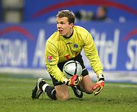 Fotball<br /> Bundesliga Tyskland 2004/2005<br /> Foto: Witters/Digitalsport<br /> NORWAY ONLY<br /> <br /> Robert ENKE<br /> Fussballspieler Hannover 96
