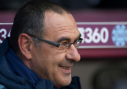 Chelsea manager Maurizio Sarri - Mandatory by-line: Jack Phillips/JMP - 28/10/2018 - FOOTBALL - Turf Moor - Burnley, England - Burnley v Chelsea - English Premier League