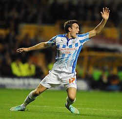 Huddersfield Town's Jack Robinson - Photo mandatory by-line: Dougie Allward/JMP - Mobile: 07966 386802 - 01/10/2014 - SPORT - Football - Wolverhampton - Molineux Stadium - Wolverhampton Wonderers v Huddersfield Town - Sky Bet Championship