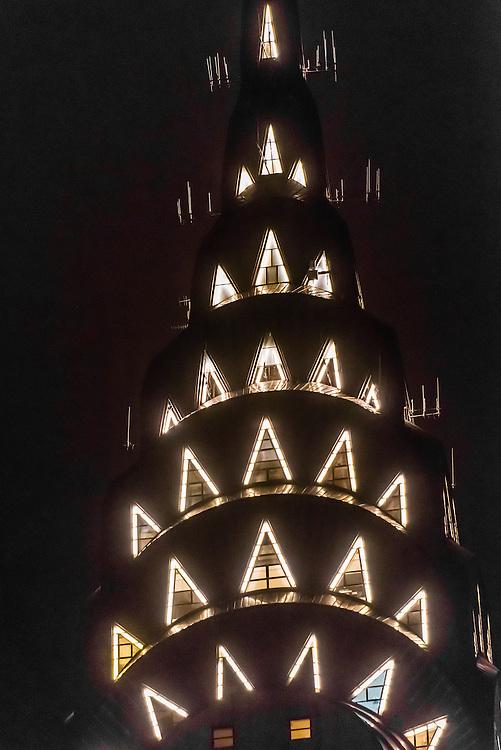 The iconic art deco Chrysler Building, New York, New York USA.