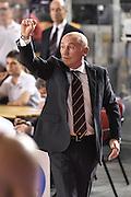 DESCRIZIONE : Campionato 2014/15 Virtus Acea Roma - Enel Brindisi<br /> GIOCATORE : Luca Dalmonte<br /> CATEGORIA : Allenatore Coach Mani Schema<br /> SQUADRA : Virtus Acea Roma<br /> EVENTO : LegaBasket Serie A Beko 2014/2015<br /> GARA : Virtus Acea Roma - Enel Brindisi<br /> DATA : 19/04/2015<br /> SPORT : Pallacanestro <br /> AUTORE : Agenzia Ciamillo-Castoria/GiulioCiamillo