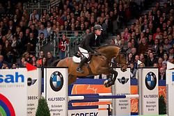 Greve Willem, (NED), Grandorado TN<br /> Springen Klasse L<br /> KWPN Hengstenkeuring - 's Hertogenbosch 2016<br /> © Hippo Foto - Dirk Caremans<br /> 04/02/16