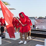 NLD/Amsterdaml/20180902 - Everon Jackson Hooi Lanceert boxerliijn  IAMTORO, Modellen met de boxers