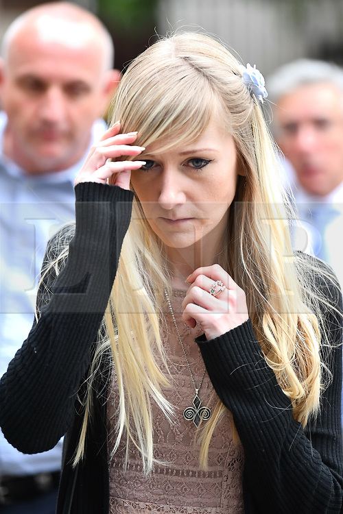 © Licensed to London News Pictures. 24/07/2017. London, UK. CHRIS GARD and CONNIE YATES seen leaving The The Royal Courts of Justice in London AFTER they have withdrawn their legal bid for further treatment in their son . The parents of terminally ill Charlie Gard returned to the High Court in light of new evidence relating to potential treatment for their son's condition. An earlier lengthy legal battle ruled that Charlie could not be taken to the US for experimental treatment. London, UK. Photo credit: Ben Cawthra/LNP