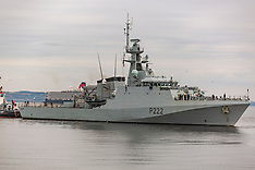 HMS Forth arrives. Edinburgh, 14 August 2019