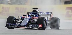 October 19, 2018 - Austin, Texas, U.S - 28 ''BRENDON HARTLEY'' Red Bull Toro Rosso Honda around turn 16 in the preliminaries. (Credit Image: © Hoss McBain/ZUMA Wire)