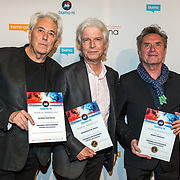 NLD/Utrecht/20171002 - Uitreiking Buma NL Awards 2017, Vreemde Kostgangers winnen de award