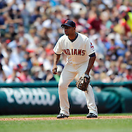 Andy Marte of the Cleveland Indians..The Minnesota Twins defeated the Cleveland Indians 4-2 on Sunday, July 27, 2008 at Progressive Field in Cleveland.