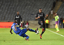 South Africa: Johannesburg: Orlando Pirates Thembinkosi Lorch and Cape Town City during the Premier Soccer League (PSL) at Orlando Stadium in Soweto, Gauteng.<br />19.09.2018<br />Picture: Itumeleng English/African News Agency (ANA)