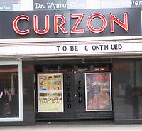 curzon cinimas closedLondon photo by Brian Jordan