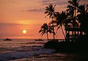 Sunset, Kailua Kona, Island of Hawaii