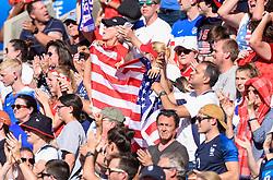 June 16, 2019 - Paris, France - Supporters de l equipe Etats Unis - ambiance (Credit Image: © Panoramic via ZUMA Press)