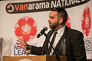 Vanarama Paul Cable during the National League Gala Awards Evening at Celtic Manor Resort, Newport, South Wales on 9 June 2018. Picture by Shane Healey.