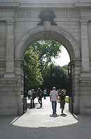 Arch at St Stephens Green Dublin Ireland