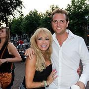 NLD/Amsterdam/20120706 - Verjaardagsfeest Gordon, Patricia Paay en partner Nicky van Dam