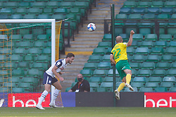 Teemu Pukki of Norwich City scores and celebrates to make it 1-1 - Mandatory by-line: Phil Chaplin/JMP - 19/09/2020 - FOOTBALL - Carrow Road - Norwich, England - Norwich City v Preston North End - Sky Bet Championship