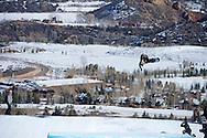 Mark Mcmorris during Snowboard Slopestyle Eliminations at 2014 X Games Aspen at Buttermilk Mountain in Aspen, CO. ©Brett Wilhelm/ESPN