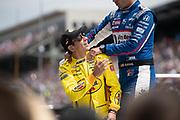 May 24-26, 2019: 103rd Indianapolis 500. 3 Helio Castroneves, Pennzoil Team Penske, Chevrolet, Team Penske,  15 Graham Rahal, United Rentals, Honda, Rahal Letterman Lanigan Racing