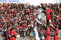 Wenceslas LAURET - 10.01.2015 - Toulon / Racing Metro - 16e journee Top 14<br />Photo : Jc Magnenet / Icon Sport