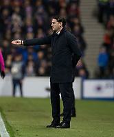 Football - 2019 / 2020 UEFA Europa League - Group G: Rangers vs. BSC Young Boys<br /> <br /> Young Boys FC manager Gerardo Seoane, at Ibrox Stadium.<br /> <br /> COLORSPORT/BRUCE WHITE