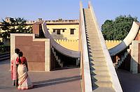 India, Rajasthan, Jaipur, Observatoire, Janta Mahal // India. Rajasthan. Jaipur. Observatory. Janta Mahal.