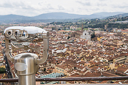 April 10, 2018 - View over Florence, Tuscany, Italy (Credit Image: © Cultura via ZUMA Press)