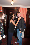 ROSARIO DAWSON, West End opening of RSC production of Julius Caesar at the Noel Coward Theatre on Saint Martin's Lane. After-party  at Salvador and Amanda, Gt. Newport St. London. 15 August 2012.