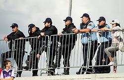 Police during football match between NK Triglav Kranj and NK Maribor in Round #7 of Prva liga Telekom Slovenije 2018/19, on September 2, 2018 in Kranj, Slovenia. Photo by Vid Ponikvar / Sportida