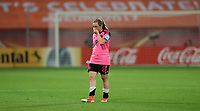 Football - 2017 UEFA Women's European [Euro] Championship - Group D: England vs. Scotland<br /> <br /> Erin Cuthbert of Scotland reacts after losing the match at Stadion Gagenwaard, Utrecht.<br /> <br /> COLORSPORT/LYNNE CAMERON