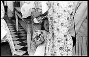 Bridesmaid, marriage hon. Peter Pleydell-Bouverie/Jane Gilmour. Syon House. 14/06/86© Copyright Photograph by Dafydd Jones 66 Stockwell Park Rd. London SW9 0DA Tel 020 7733 0108 www.dafjones.com