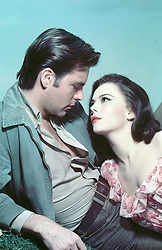 February 2, 2018 - FILE - Nearly four decades after the unexplained drowning death of Hollywood star Natalie Wood, Los Angeles County Sheriff's investigators say that her then-husband, actor Robert Wagner, is now a person of interest. Investigators want to speak with Wagner about the circumstances surrounding her death one night in 1981, they say in interviews. PICTURED: NATALIE WOOD, ROBERT WAGNER on the set of 'All The Fine Young Cannibals' in 1960 (Credit Image: © Metro-Goldwyn-Meyer (MGM)/Entertainment Pictures/ZUMAPRESS.com)
