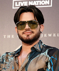 Roger Taylor at a press conference to kick off limited engagement of THE CROWN JEWELS held at the MGM Resorts Aviation Hangar on August 28, 2018 in Las Vegas, NV. © JPA / AFF-USA.com. 29 Aug 2018 Pictured: Adam Lambert. Photo credit: JPA / AFF-USA.com / MEGA TheMegaAgency.com +1 888 505 6342