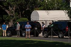 President Trump heads to the golf club - 2 Sep 2018