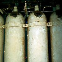 Helium Oxygen storage, USS Kittiwake