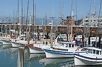 Whilst Fisherman's Wharf, San Francisco, California, USA, is a major tourist destination many commercial fishing vessels operate from there.  201304131264<br /> <br /> Copyright Image from Victor Patterson, 54 Dorchester Park, Belfast, UK, BT9 6RJ<br /> <br /> Tel: +44 28 9066 1296<br /> Mob: +44 7802 353836<br /> Voicemail +44 20 8816 7153<br /> Skype: victorpattersonbelfast<br /> Email: victorpatterson@me.com<br /> Email: victorpatterson@ireland.com (back-up)<br /> <br /> IMPORTANT: If you wish to use this image or any other of my images please go to www.victorpatterson.com and click on the Terms & Conditions. Then contact me by email or phone with the reference number(s) of the image(s) concerned.