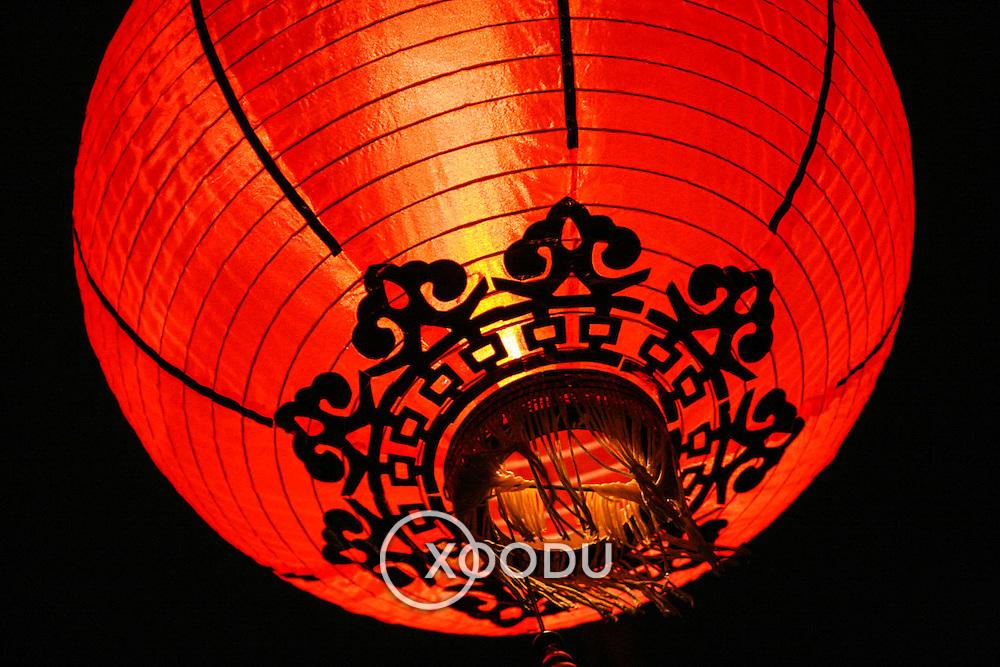 Red lantern, Hong Kong, China (January 2006)