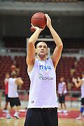Danzica - Polonia 03 Agosto 2012 - Nazionale Italia Maschile Allenamento - <br /> Nella Foto : MARCO CUSIN<br /> Foto Ciamillo