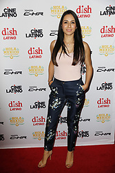LOS ANGELES, CA - JUNE 7 Patricia Maya attends the 9th Annual Hola Mexico Film Festival Opening Night at the Regal LA LIVE in downtown Los Angeles, on June 7, 2017 in Los Angeles, California. Byline, credit, TV usage, web usage or linkback must read SILVEXPHOTO.COM. Failure to byline correctly will incur double the agreed fee. Tel: +1 714 504 6870.