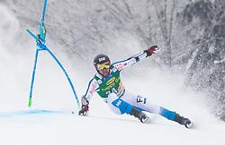 Samu Torsti of Finland during 1st run of Men's Giant Slalom race of FIS Alpine Ski World Cup 57th Vitranc Cup 2018, on 3.3.2018 in Podkoren, Kranjska gora, Slovenia. Photo by Urban Meglič / Sportida