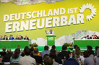 27 APR 2013, BERLIN/GERMANY:<br /> Claudia Roth, B90/Gruene Bundesvorsitzende, haelt eine Rede, Bundesdelegiertenkonferenz Buendnis 90 / Die Gruenen, Velodrom<br /> IMAGE: 20130427-01-073<br /> KEYWORDS: Parteitag, Bundesparteitag, BDK, party congress, Bündnis 90 / Die Grünen, B90/Gruene, B90/Grüne