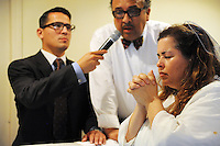 A parishioner is fully baptised by Pastor Andrew Lopez during services at Apostolic Life Community Church on Williams Road in east Salinas. An award-winning gospel choir raises the roof here every Sunday, accompanied by an enthusiastic congregation joining together for music and prayer.