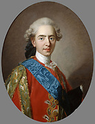 Louis XVI  (1754-1793) king of France from 1774 until guillotined during the French Revolution.  Louis while still Dauphin.  Portrait by Charles Andre van Loo (1705-1765) French painter. Oil on canvas.