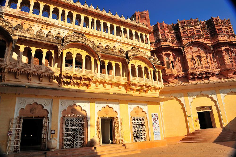 Jodphur's Mehrangarh Fort interior
