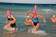 Australians are beach culture people. On Australia Day January 26 a Swim Through from Scarborough to Floreat Beach in Perth attracts people from all walks of life and athletes of various abilities.