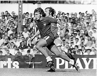 Alan Hudson - Chelsea. Chelsea v Arsenal 29/8/70. Credit: Colorsport