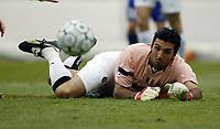 BOLOGNA, 22/02/2004<br />PARTITA DI SERIE A BOLOGNA-JUVENTUS 0-1<br />Gianluigi Buffon, Juventus goalkeeper<br />FOTO CARLO BARONCINI/GRAFFITI