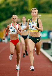 Athlete Brigita Langerholc at 2nd Memorial Meeting of Matic Sustersic, on June 3, 2007, Ljubljana, Slovenia.   (Photo by Vid Ponikvar / Sportal Images).