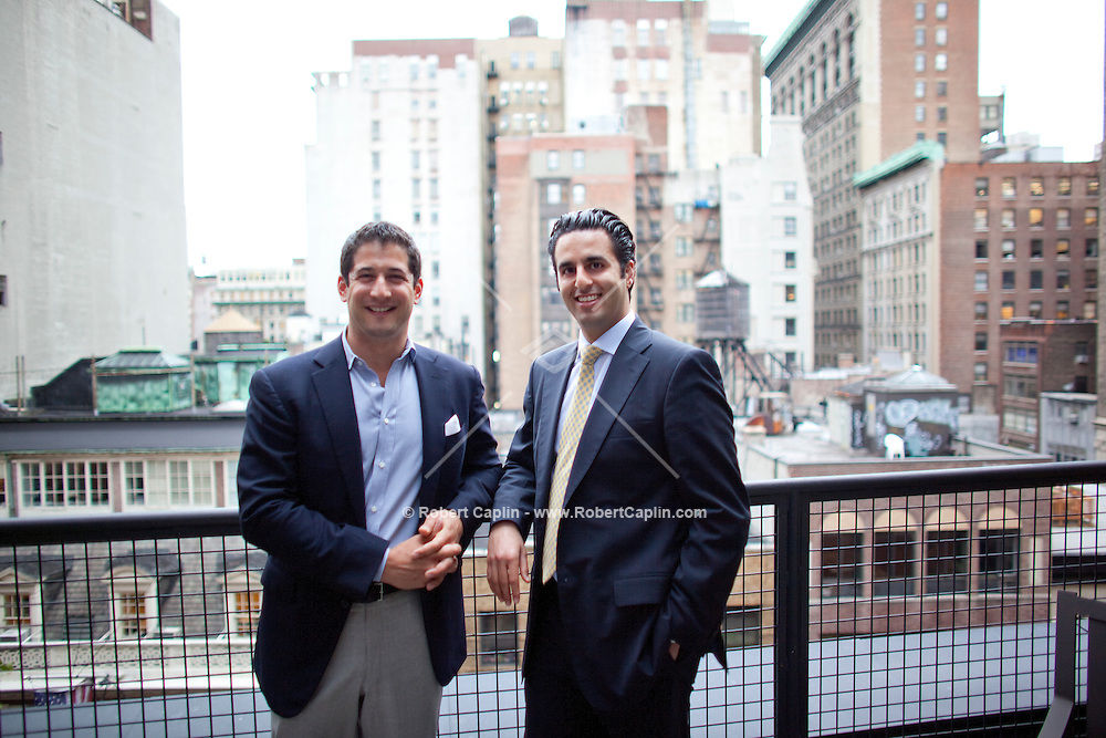 """Principals of Paramount Realty Misha Haghani, right, and Scott Burman, left, pose at an apartment  at 127 Madison...The first developer auction for a Manhattan condominium development in almost twenty years will be held next month on June 27th at The Roosevelt Hotel..Paramount Realty USA, a New York-based real estate auction company, announced that it has been hired by Cardinal Investments to market and sell the remaining six luxury residential condominiums at their Madison Square North condominium development, m127, located at 127 Madison Avenue between 30th and 31st Streets..Misha Haghani, one of the two principals of Paramount Realty USA, says the auction will clearly reveal what the units are worth in today's market. """"The transparent and open nature of the auction process will provide pricing clarity to buyers by showing what others are willing to pay,"""" said Haghani. """"It's a once in a lifetime opportunity to name your price on these exclusive Manhattan residences."""".. Photo by Robert Caplin"""