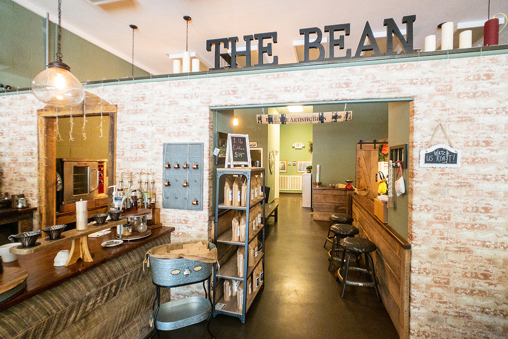 The Artistic Bean coffee shop in Townsend, Tennessee on Wednesday, August 12, 2020. Copyright 2020 Jason Barnette