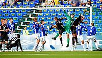 Adeccoligaen kamp mellom Sarpsborg 08 og Sogndal.<br /> Keeper Magnus Hjulstad var god i kampen mot Sogndal<br /> Foto: Thomas Andersen